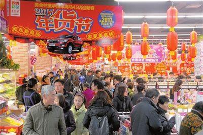 湖北春节消费市场火爆 零售餐饮销售额达248亿元