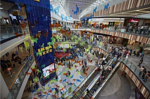 武汉迎来新一轮购物中心开业潮 新增面积创历史新高