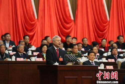 姚增科当选为政协江西省第十二届委员会主席。姜涛 摄
