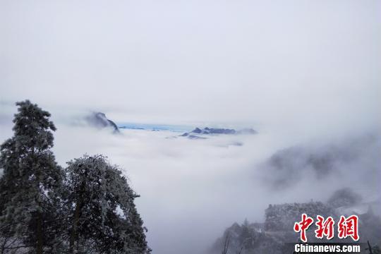 牛庄乡风景。 刘正艳 摄