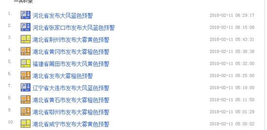 据中国天气网