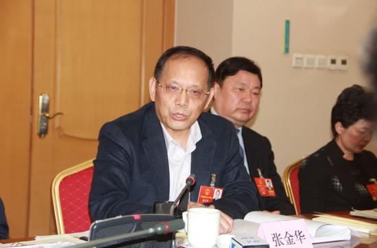全国人大代表、中国航空工业特飞所第九研究室高级主任设计师张金华