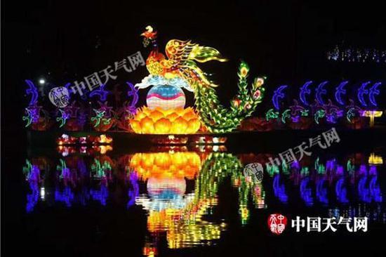 2018年武汉东湖元宵灯会已经开幕。(图/高迅芝)