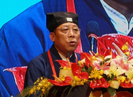 张凤林道长(摄影:隋玉宝)