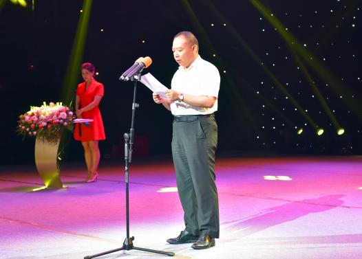 襄阳市委常委、宣传部长胡和平致辞