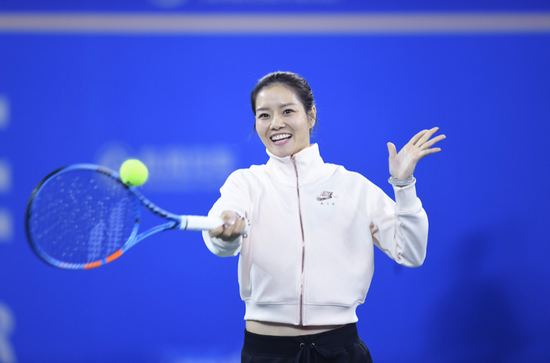 武汉网球公开赛携手国际网球名人