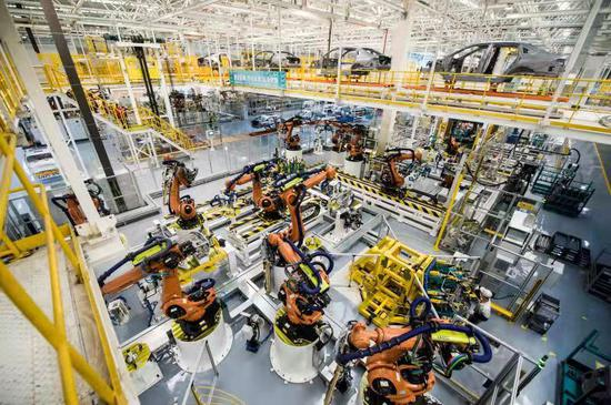 52秒可下线一辆新车!世界级智能制造标杆工厂在宜昌竣工