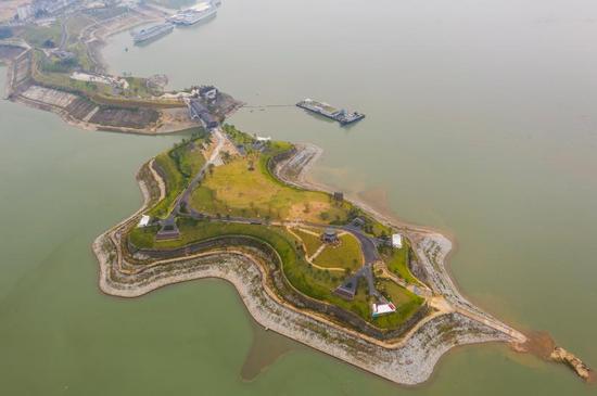 三峡坝首又添佳景 秭归木鱼岛公园十一将惊艳绽放