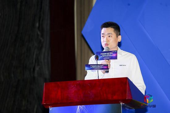 ▲ 易瓦特科技股份公司副总经理、国际营销中心负责人 廖世康