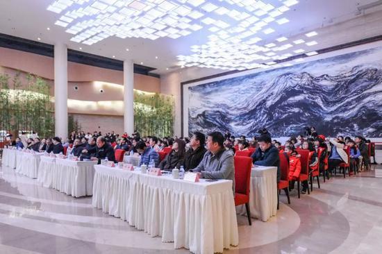 长江文明馆(武汉自然博物馆)研学项目启动仪式现场