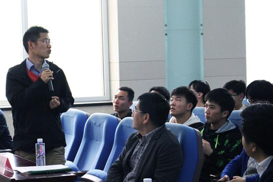 """""""青年千人计划""""入选者、武汉大学测绘学院教授李星星发言"""