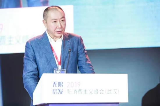 图为IDG 全球总裁、中国泛海控股集团监事会副主席刘冰