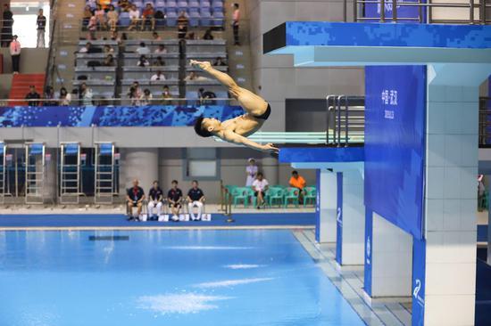 必威bet体育_军运会跳水测试赛在武汉体育中心游泳馆举行