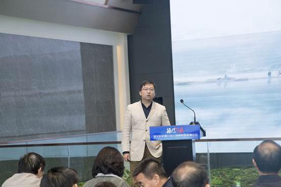 上海联创设计集团武汉新锐公司资深设计总监高杨作主报告:《湖北文旅康养项目规划的经验——以鄂西茶旅小镇为例》