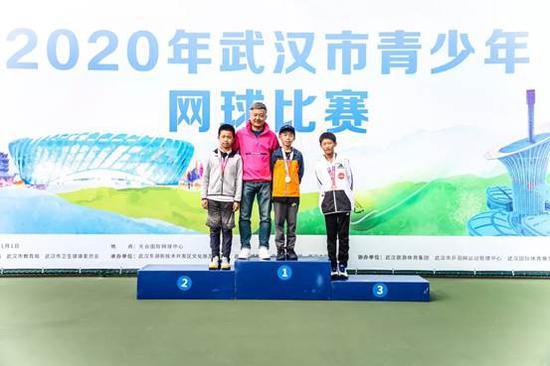 2020年武汉市青少年网球比赛圆满收官 网球小将拼出人生新赛道