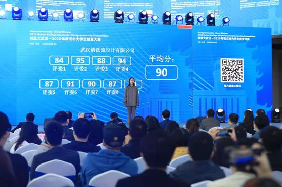 创业大武汉——2020年武汉市大学生创业大赛隆重举办