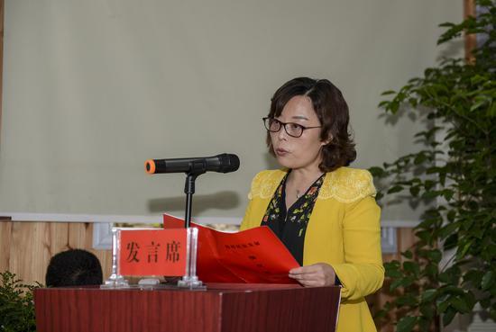 利川市旅游委主任吴曼丽发布利川民宿发展报告
