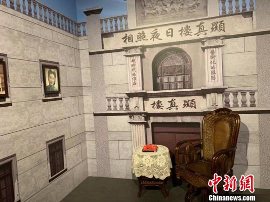 图为辛亥革命博物馆打造的武汉老字号场景 武一力 摄