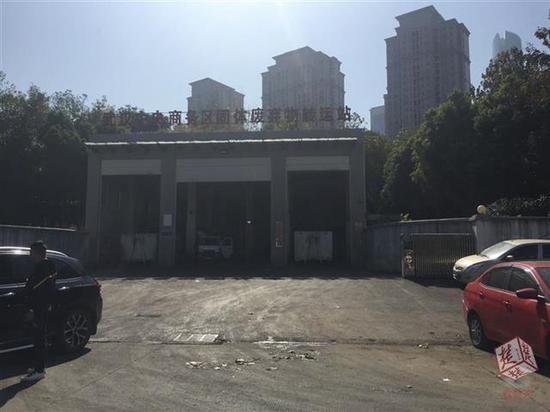 武汉中央商务区固体废弃物转运站