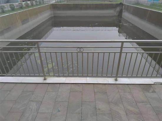 宜都兴发化工公司收集雨水利用