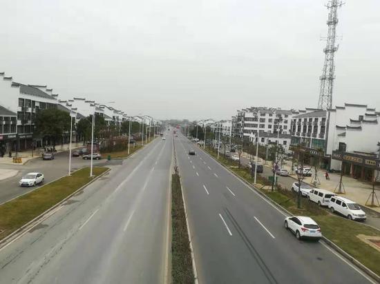 黄陂长岭街打造新亮点 创建达标