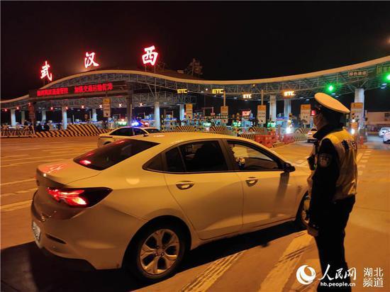 4月8日,武汉高速公路解禁(郭婷婷 摄)