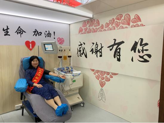 累计献血8万余毫升 武大这位教授迎来第200次献血