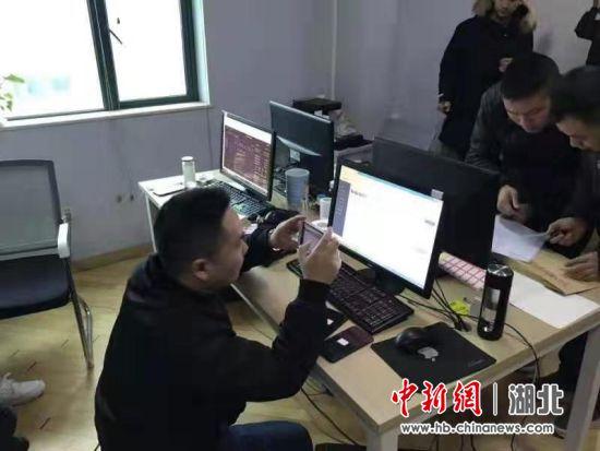 民警调查取证