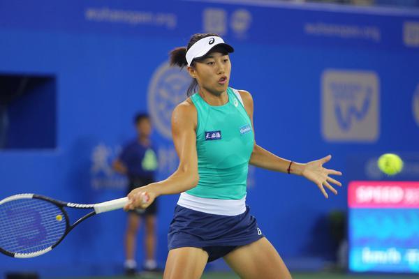 武汉网球公开赛张帅不敌斯蒂文斯首轮出局