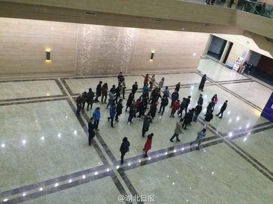 马云现身湖北省博物馆