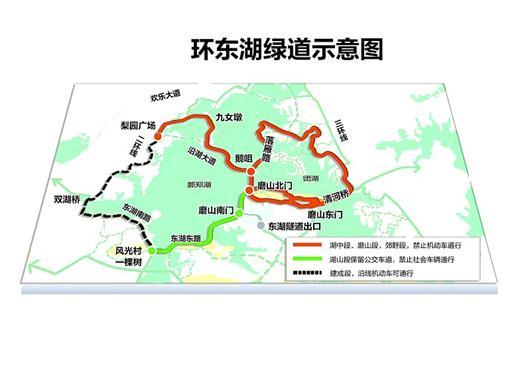 武汉环东湖绿道月底开建 按国际公路自行车赛道打造图片
