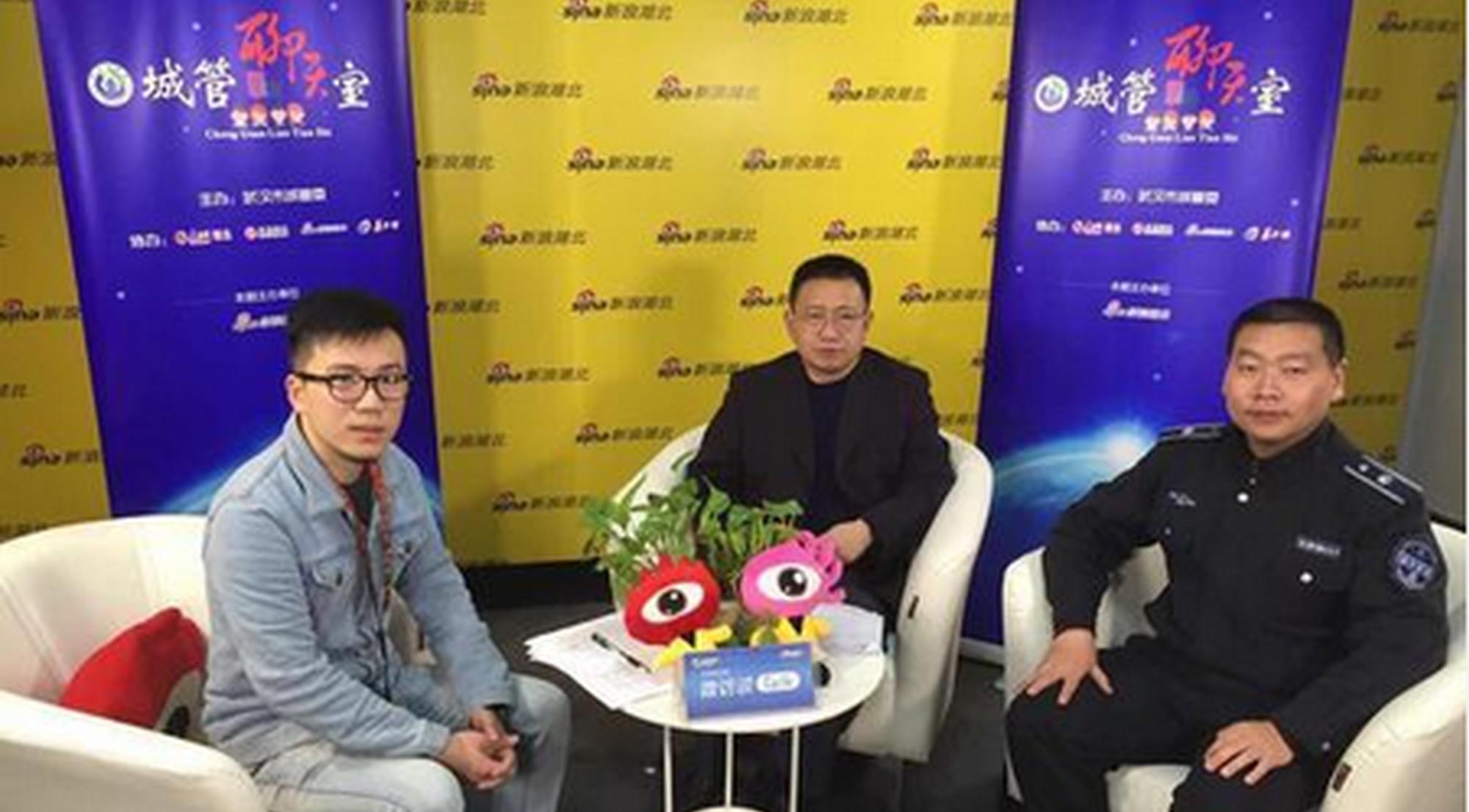 武汉城管聊天室谈柔性执法 核桃姐获市民认可