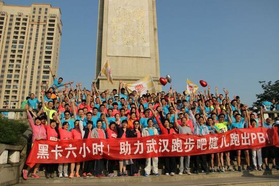 李宁10K路跑联赛,作为特邀跑团