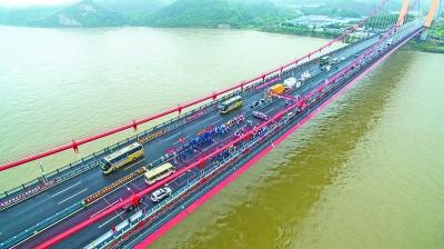 宜昌至喜长江大桥。