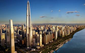 武汉最新在建及已建成摩天楼排行榜