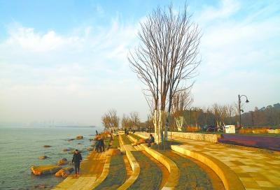 探访武汉东湖绿道四段美景 道路设计拥有不少尖板眼