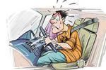 新手司机错将油门当刹车 轿车冲进蛋糕店撞伤一人