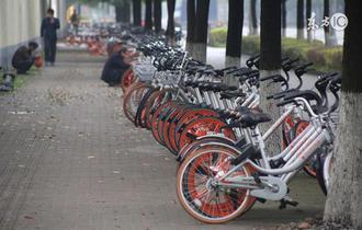 武汉共享单车将纳入监管 用户实名注册登记才能租车