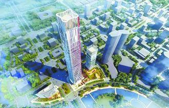 光谷第一高楼设计方案细节披露 计划于5年后开放