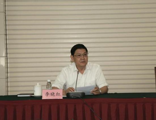 李晓红任中共中国工程院党组书记(图)