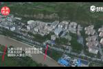 航拍震后四川九寨沟县城 建筑基本完好