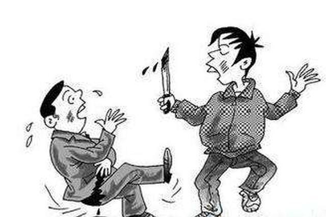 湖北当阳一男子向父亲索要毒资遭拒 持刀在家中乱砍