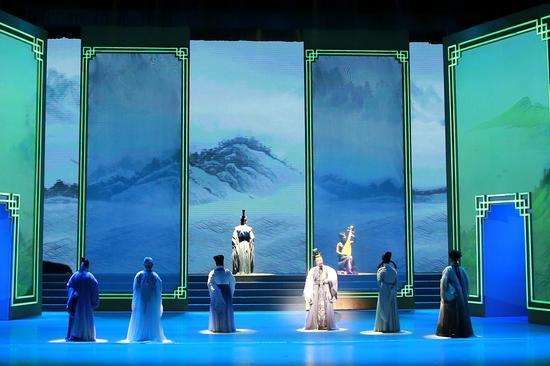 第五届中国诗歌节开幕式现场。乾龙 摄
