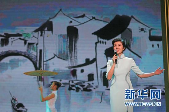 第五届中国诗歌节开幕式诗歌诵读剧照