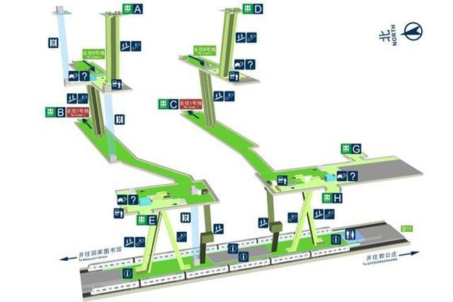 武汉地铁首个无障碍设施地图年底上线 可用手机查询