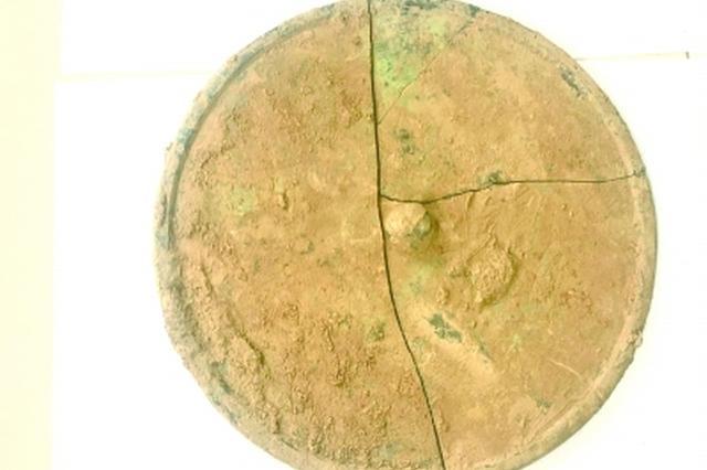 可惜!湖北迄今最大古青铜镜已破碎(图)