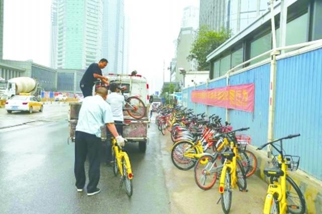 武汉江汉区划定共享单车严管区 违规骑行停车都将受罚