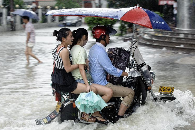 中央气象台发布暴雨黄色预警:湖北等局地有暴雨