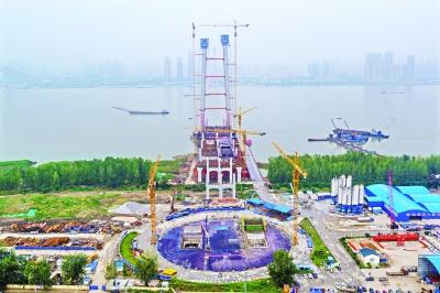 武汉杨泗港长江大桥将成世界跨度最大功能最全大桥