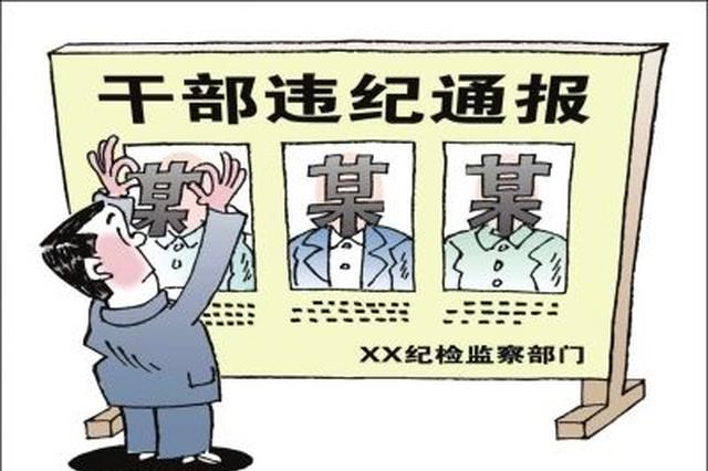 湖北省纪委通报6起违反中央八项规定精神典型案例